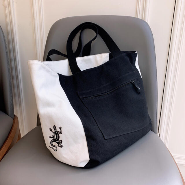 agnes b.(アニエスベー)の【新品】agnes b レディース トートバッグ Lサイズ リバーシブル仕様  レディースのバッグ(トートバッグ)の商品写真