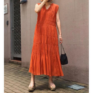 Ameri VINTAGE - 美品⭐︎SHIRRING PLEATS NS DRESS