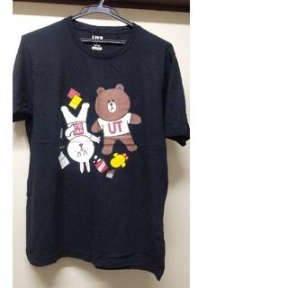 UNIQLO - LINE FRIENDS キャラクター プリント コラボ Tシャツ