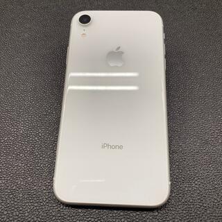 iPhone - ドコモ SIMロック解除済 iPhoneXR 64GB ホワイト