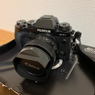 フジフイルム(富士フイルム)のFUJIFILM XT-1+XF35mm F1.4R レンズセット(ミラーレス一眼)