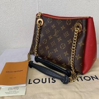 LOUIS VUITTON - 美品 ルイ ヴィトン モノグラム スレンヌBB 赤 レッド バッグ