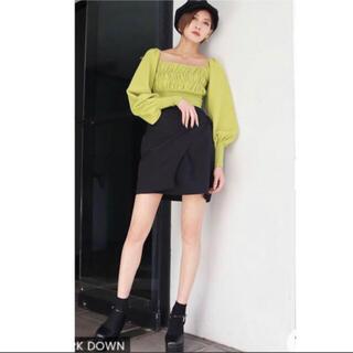 エモダ(EMODA)の美品♡ EMODA Wラップベルトスカート Mサイズ(キュロット)