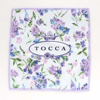 TOCCA - 新品☆トッカ☆TOCCA☆スマホもメガネもふけるハンカチーフ☆ラベンダー