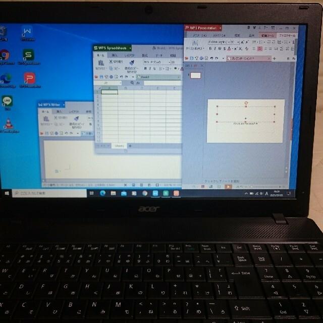 Acer(エイサー)のaser ノートパソコン TRAVELMATE スマホ/家電/カメラのPC/タブレット(ノートPC)の商品写真