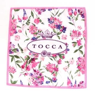 TOCCA - 新品☆トッカ☆TOCCA☆スマホもメガネもふけるハンカチーフ☆ピンク