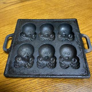タコ型たこ焼き鉄板(たこ焼き機)
