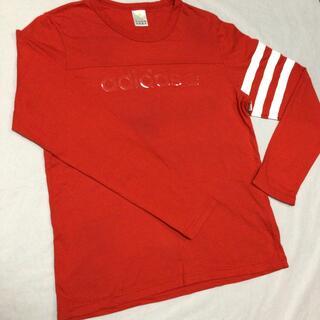 アディダス(adidas)のadidas NEO 長袖Tシャツ 赤(Tシャツ(長袖/七分))
