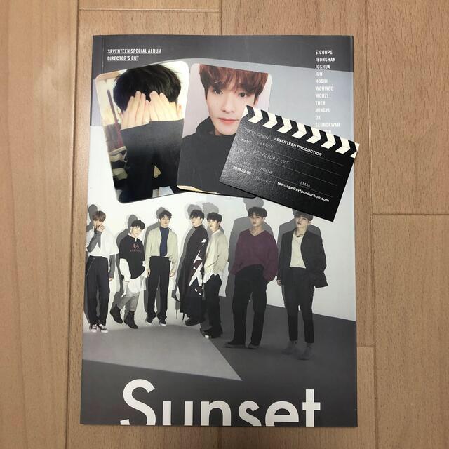 SEVENTEEN(セブンティーン)のSEVENTEEN SPECIAL ALBUM 『DIRECTOR'S CUT』 エンタメ/ホビーのCD(K-POP/アジア)の商品写真