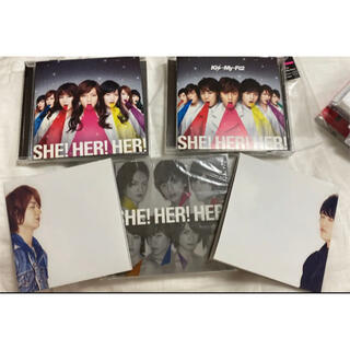 Kis-My-Ft2 - SHE!HER!HER! Kis-My-Ft2 3枚セット キスマイショップ