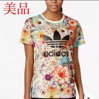 adidas - アディダスオリジナルス adidas Tシャツ 花柄 FARM コラボ