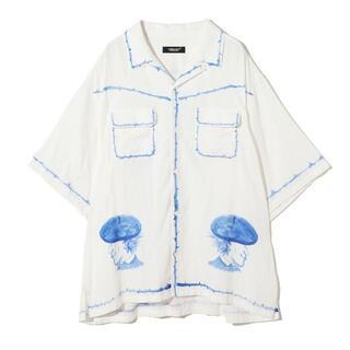 アンダーカバー(UNDERCOVER)のUNDERCOVER パイピングシャツ S(シャツ/ブラウス(半袖/袖なし))