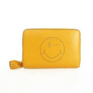 アニヤハインドマーチ(ANYA HINDMARCH)のWINK ウィンク コンパクトウォレット 二つ折り財布 フリンジチャーム 箱あり(財布)