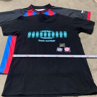 BACK NUMBER - back number バックナンバーツアーTシャツ2枚+バッヂ バクナン