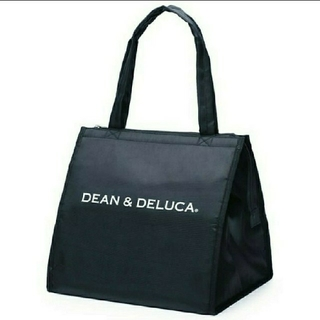 DEAN & DELUCA - DEAN&DELUCA トートバッグ L ブラック 新品