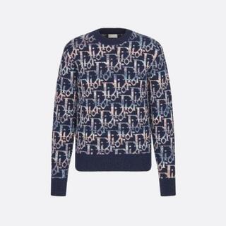 DIOR HOMME - Mサイズ DIOR MEN ディオール オブリーク ウールジャカード セーター