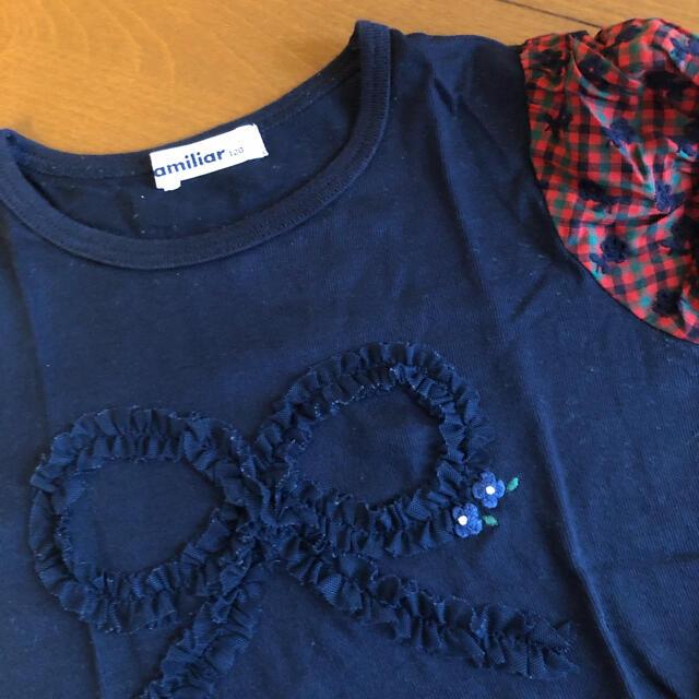 familiar(ファミリア)のファミリア  Tシャツ キッズ/ベビー/マタニティのキッズ服女の子用(90cm~)(Tシャツ/カットソー)の商品写真