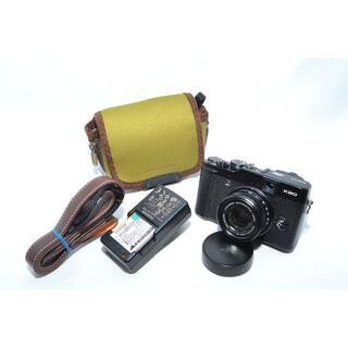 フジフイルム(富士フイルム)の★カメラポーチ付★ FUJIFILM X20 ブラック(コンパクトデジタルカメラ)