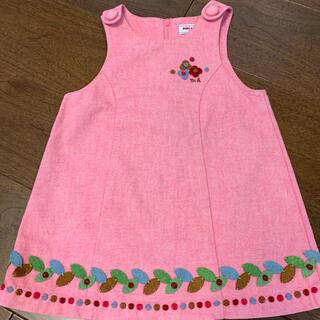 mikihouse - ミキハウス Miki house ジャンパースカート 90cm  ピンク