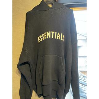Essential - essentials ニットパーカー