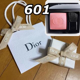 Christian Dior - ディオールスキン ルージュブラッシュ601 ホログラム ショッパー プレゼント用