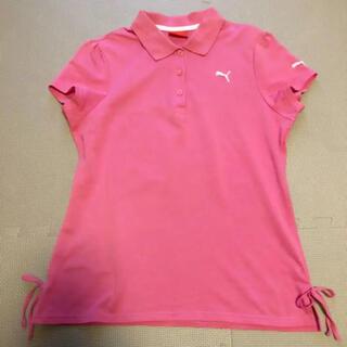 PUMA - PUMA プーマ ポロシャツ ピンク L
