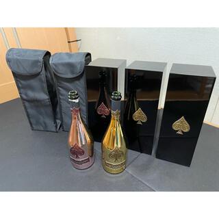 アルマンドバジ(Armand Basi)のアルマンド 箱✖️3.ケース✖️2.空き瓶✖️2 セット(値下げしました)(シャンパン/スパークリングワイン)