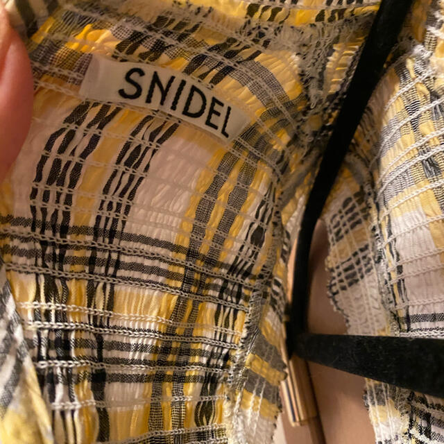 snidel(スナイデル)のスナイデル ワンピース らら様専用 レディースのワンピース(ロングワンピース/マキシワンピース)の商品写真