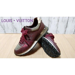 LOUIS VUITTON - 【希少】LOUIS VUITTON run away スニーカー 26.5cm