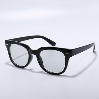 ウェリントンサングラス y300031 ブラック/グレー(9)