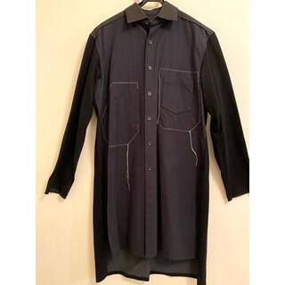 ワイスリー(Y-3)のyukiyo様専用 Y-3 ワイスリーロングシャツ ブラックネイビー Sサイズ (シャツ)