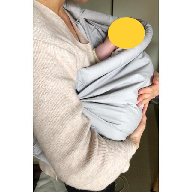 CUBY ベビースリング ベビーキャリア 抱っこひも 新生児 片肩  キッズ/ベビー/マタニティの外出/移動用品(スリング)の商品写真