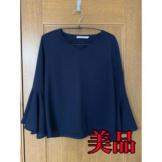 カラー(Color)の袖フリルブラウス color(シャツ/ブラウス(長袖/七分))