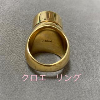 クロエ(Chloe)のクロエ   ボリュームリング ゴールド(リング(指輪))