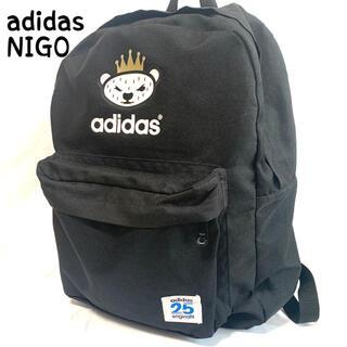 アディダス(adidas)のadidas  アディダス × ニゴ リュック バックパック 黒 ブラック(リュック/バックパック)
