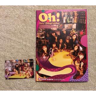 ショウジョジダイ(少女時代)の少女時代 The 2nd Album Oh!  SNSD トレカ付き(K-POP/アジア)