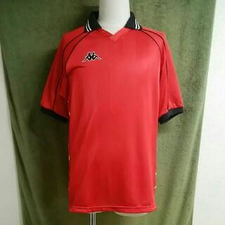 カッパ(Kappa)のkappaカッパ 半袖トレーニングシャツ ウォームアップトップス メンズL-LL(ウェア)