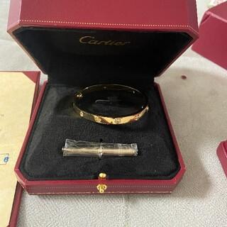 Cartier - カルティエ ラブブレス ゴールド