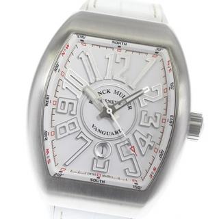 フランクミュラー(FRANCK MULLER)のフランクミュラー ヴァンガード デイト V45SCDT メンズ 【中古】(腕時計(アナログ))
