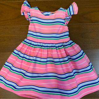 Ralph Lauren - Ralph Lauren 女の子 ワンピース 90cm ピンク パンツ付き