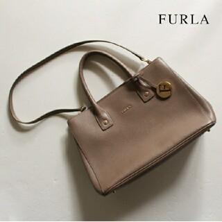 Furla - フルラ FURLA■ショルダー付トートバッグ bag チャーム ベージュ