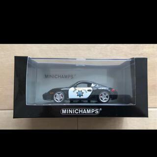 ポルシェ(Porsche)のミニチャンプス 1/43 ポルシェケイマンSハイウェイパトロール(ミニカー)