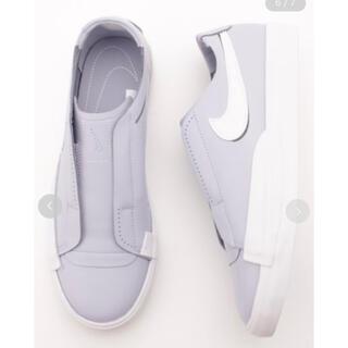 エミアトリエ(emmi atelier)のsneaker by emmi BLAZER SLIP Nike 24.0(スニーカー)