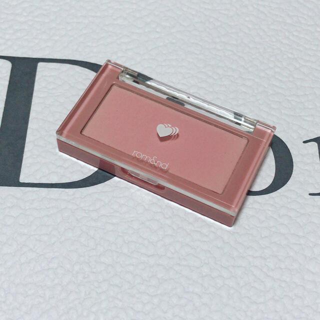 3ce(スリーシーイー)の【コメント必須】ロムアンド ベターザンチーク コスメ/美容のベースメイク/化粧品(チーク)の商品写真