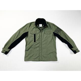 ヴィスヴィム(VISVIM)の21SS FURY 硫化染めバックサテンミリタリーシャツジャケット(ミリタリージャケット)