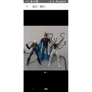マーベルレジェンド ポイズン フィギュア スパイダーマン ヴェノム(アメコミ)