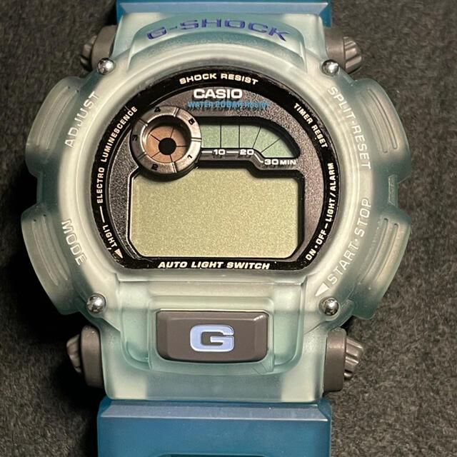 G-SHOCK(ジーショック)のG-SHOCK X-treme ブルー 透青 ユーズド メンズの時計(腕時計(デジタル))の商品写真