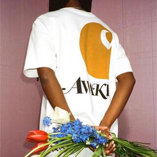 アウェイク(AWAKE)の未開封 XL Carhartt WIP Awake NY Tee White(Tシャツ/カットソー(半袖/袖なし))