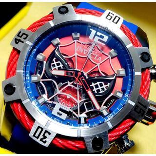 インビクタ(INVICTA)の定価11万円 インビクタ MARVEL スパイダーマン BOLT 限定モデル!(腕時計(アナログ))