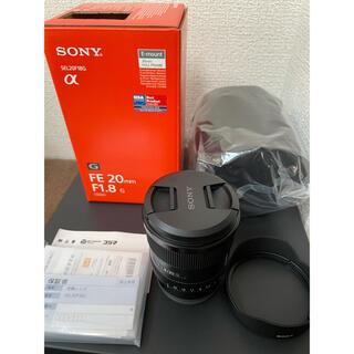 ソニー(SONY)のSEL20F18G FE 20mm F1.8G SONY ソニー Eマウント(レンズ(単焦点))
